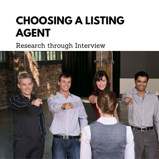 Choosing a Listing Agent image