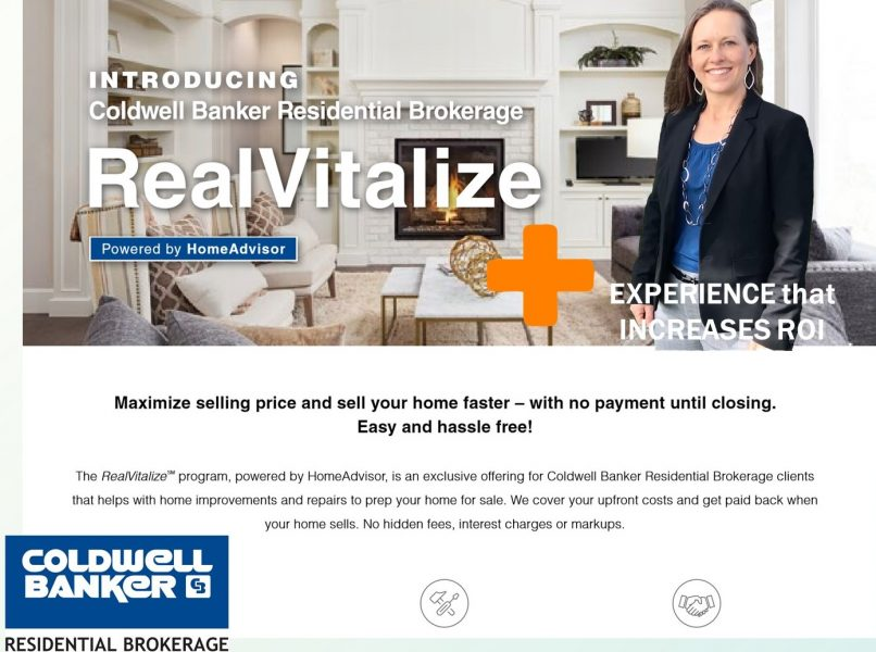 ", Prep and ""RealVitalize"" Your House for Sale for More R.O.I."