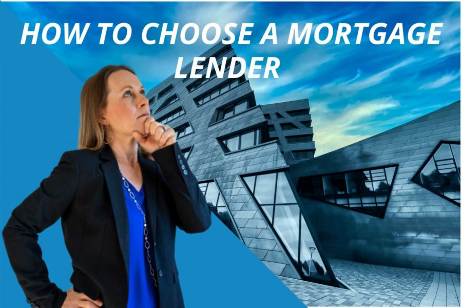 , How to Choose a Mortgage Lender