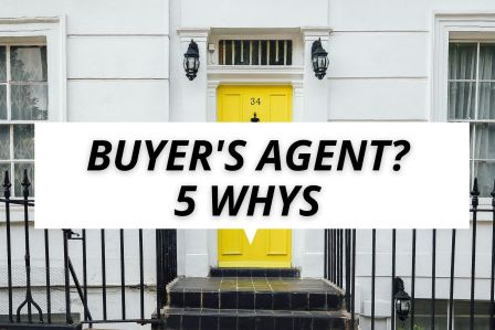 5 reasons to use a buyers agent