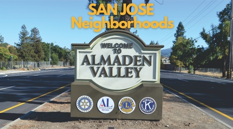 San Jose neighborhoods Almaden Valley